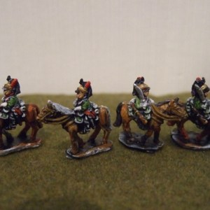 4 French Dragoons