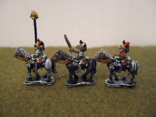 3 French Dragoon command