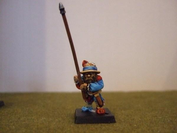 Renaissance Dwarf standard bearer