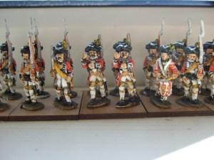 command pack 1 officer 1 sergeant 1 drummer 2 standard bearers
