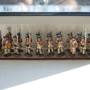 24 figure regiment Hanovarians