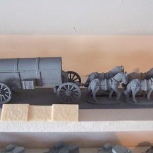 4 Horse wagon