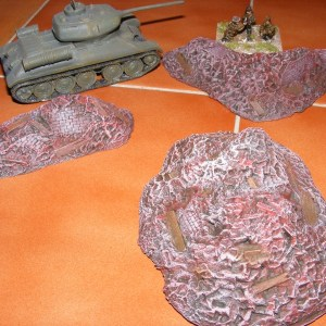 Small rubble pack of 3