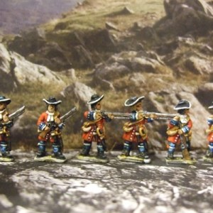6x Flintlock Musket mixed