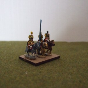 French hussar command 3 figures