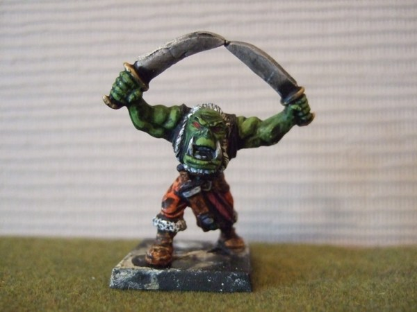 2 weapons Orc