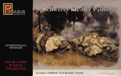 German Schwerer Kleiner Panzer (2 per box)