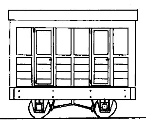 Freelance 2 Compartment 4 Wheel Coach parkside