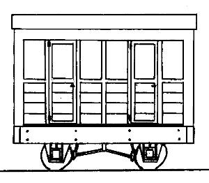 Freelance 2 Compartment 4 Wheel Coach parkside