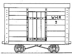 WHR 4-Wheel Van No.2