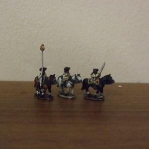 Prussian Cuirassier command