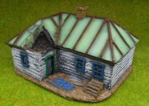 Russian House - with some battle damage.
