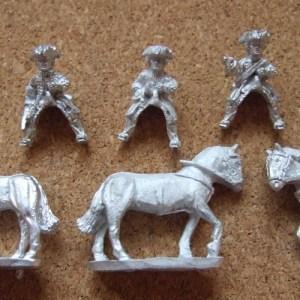 Trooper command 1 officer 1musician 1 standard bearer