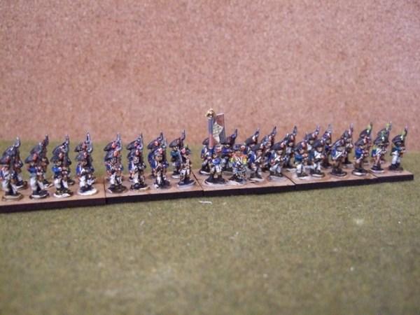 French 36 figure battalion Bicorn