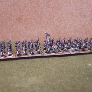 French 36 figure battalion Bicorn