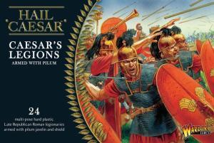 Caesar's legion armed with pilum