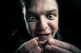 My wedding ring? It's… precious… to me...