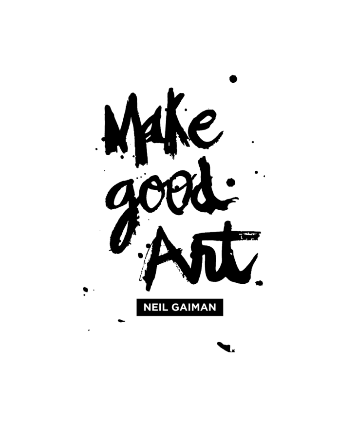 make good art speech