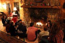 makehouse retreat fireplace fireside chat
