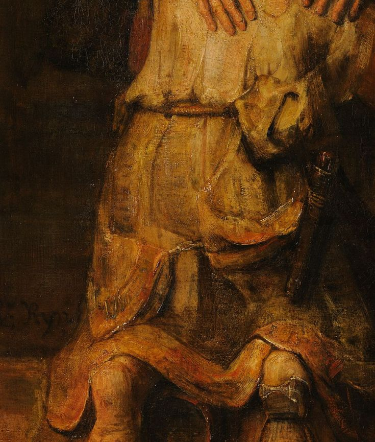 the project is ash rembrandt the prodigal son i only pray when i am in trouble and I am in trouble all of the time