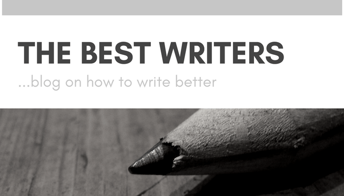 the best writers blog on how to write better