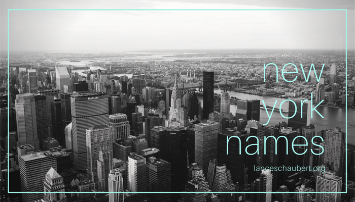 new york names