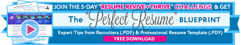 Resume Writing Tips The Perfect Resume Template Part Ii The