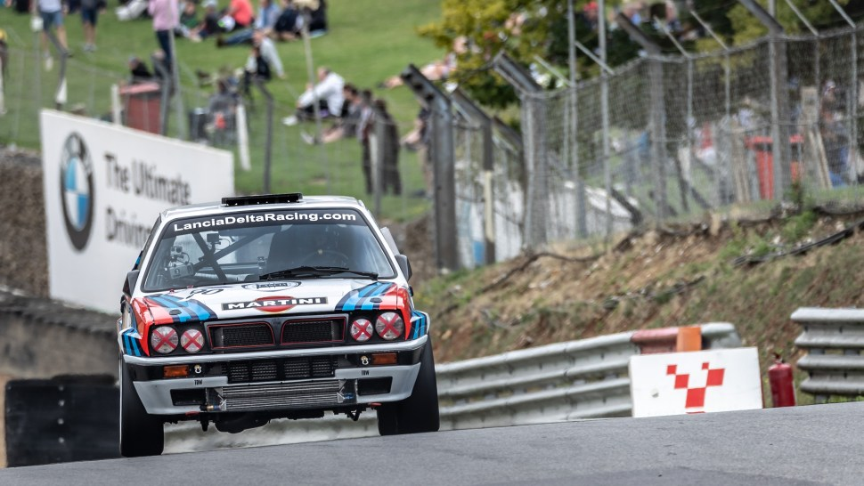 Lancia Delta HF Integralie 16v- Richard Thurbin- Italiano vs Inglese All comers Race