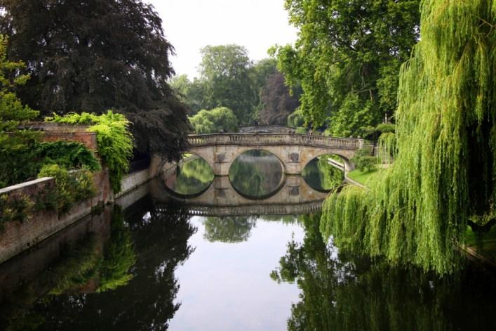 Clare Bridge in Cambridge - Image copyright Lancia E. Smith - www.lanciaesmith.com