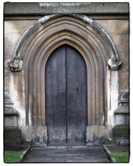 Gothic Door at Westminster Abbey - Image copyright Lancia E. Smith
