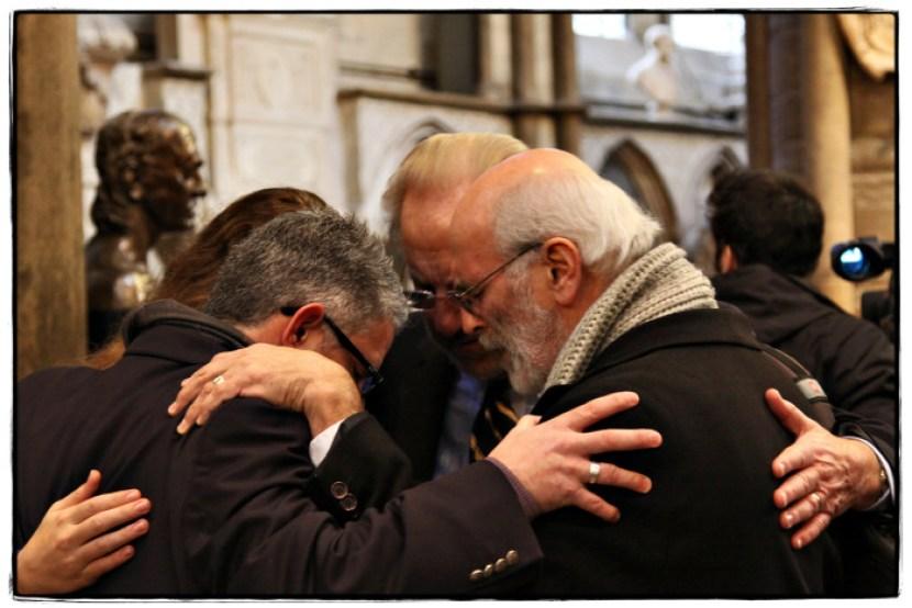 Prayer Huddle - Image copyright Lancia E. Smith