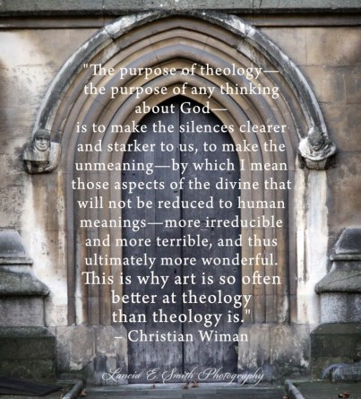 The purpose of theology - Oxford