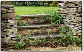Garden Steps - Cotswolds