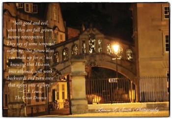 Bridge of Sighs Retrospective - Oxford