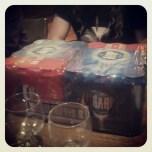 Second quiz winnings. 2 cases of Harp & 1 bottle of Vodka