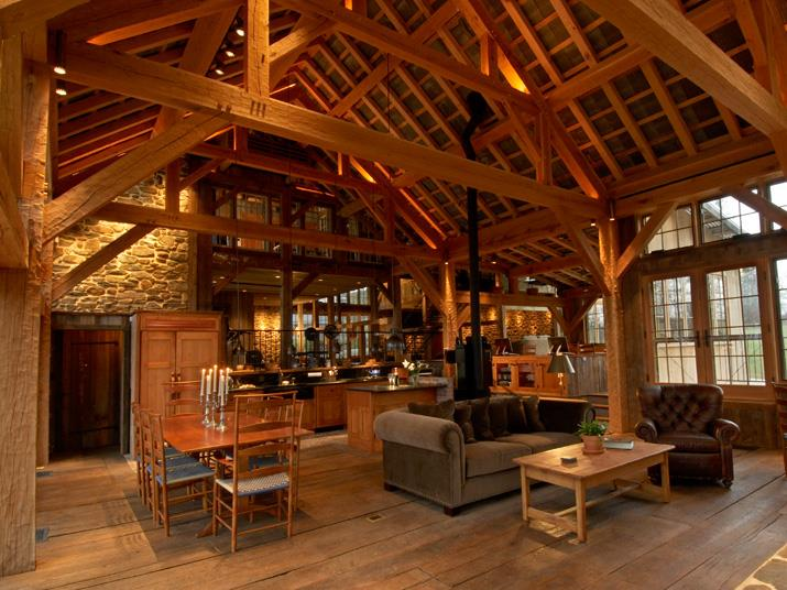 commercial kitchen lighting modern knobs matthias   lancaster county timber frames, inc.