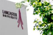 Lancaster University Sign