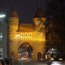 Lüdinghauser Tor am Abend