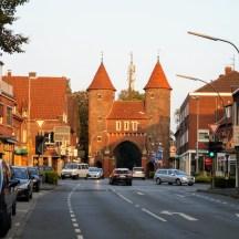 Lüdinghauser Tor am späten Nachmittag
