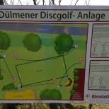 Disc Golf Dülmen Anlage Beschreibung