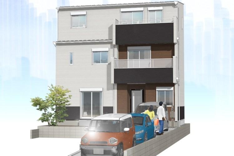 細木の家 2号棟パース