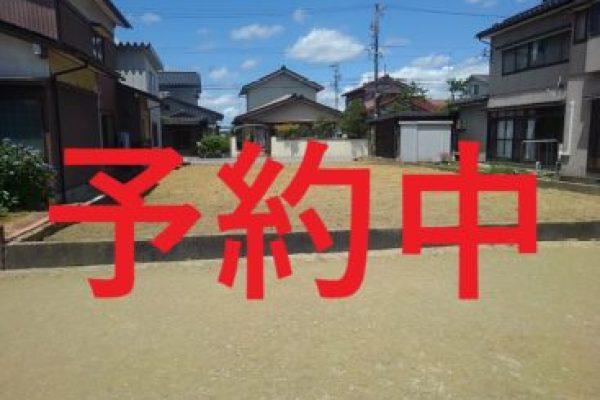 高岡市佐野住宅用土地、本日お申込みいただきました。
