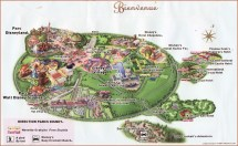 Disneyland Paris Map