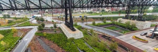 industrial site transforms