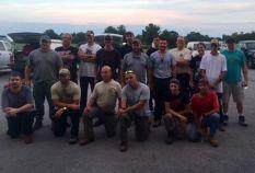 Copper King fire crew.