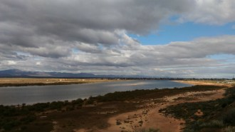 Plenty of water at Port Augusta
