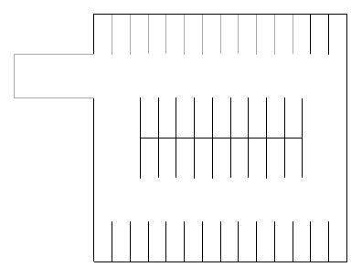 Initial Parking Layouts and Schedules