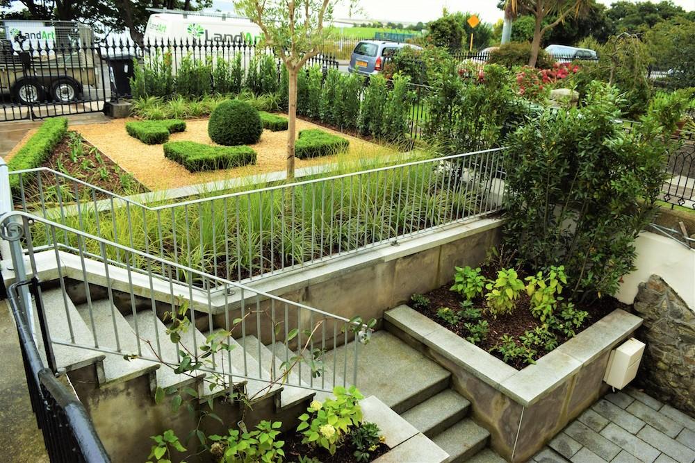 Victorian Parterre Garden Design Monkstown  LandArt