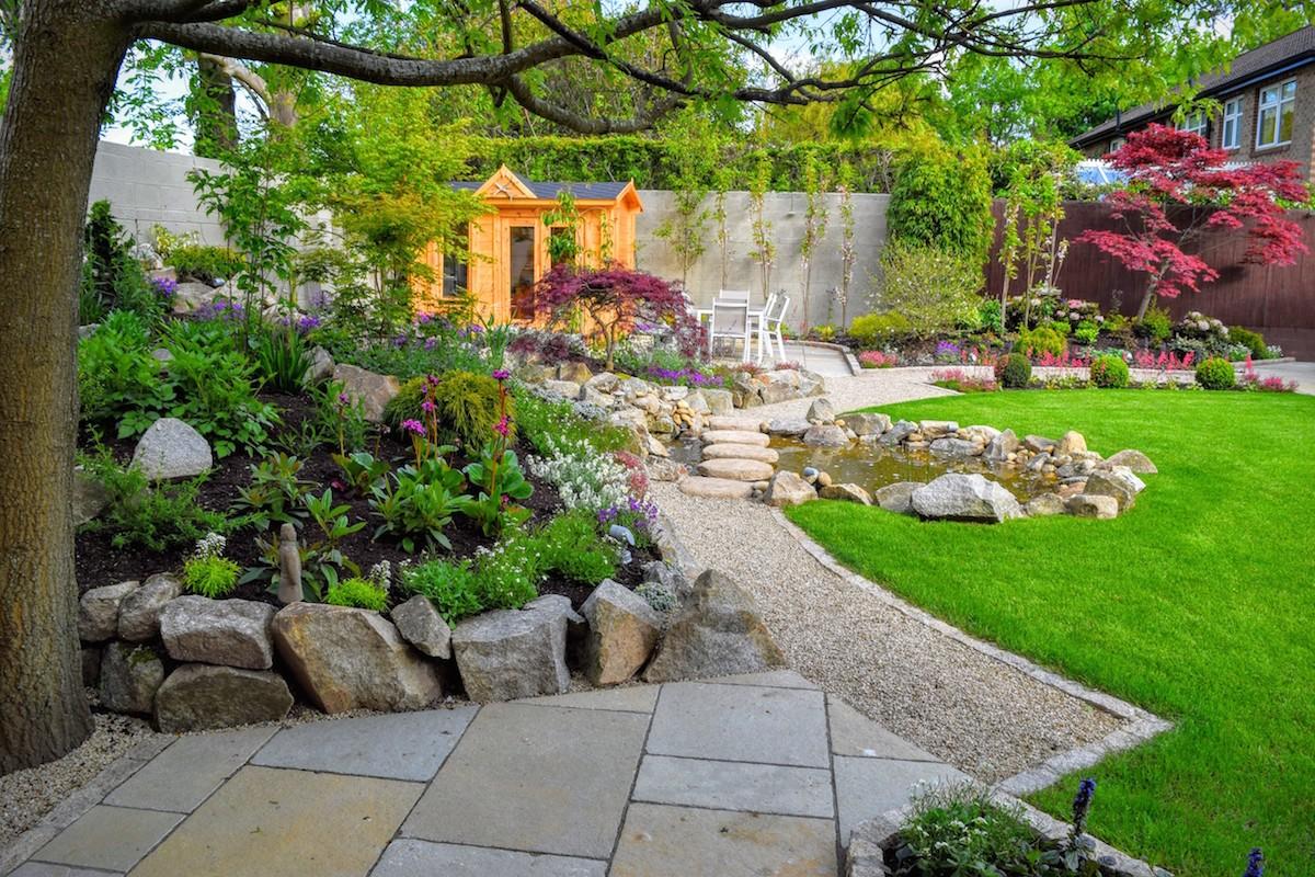 Oriental Inspired Garden Design Foxrock  LandArt