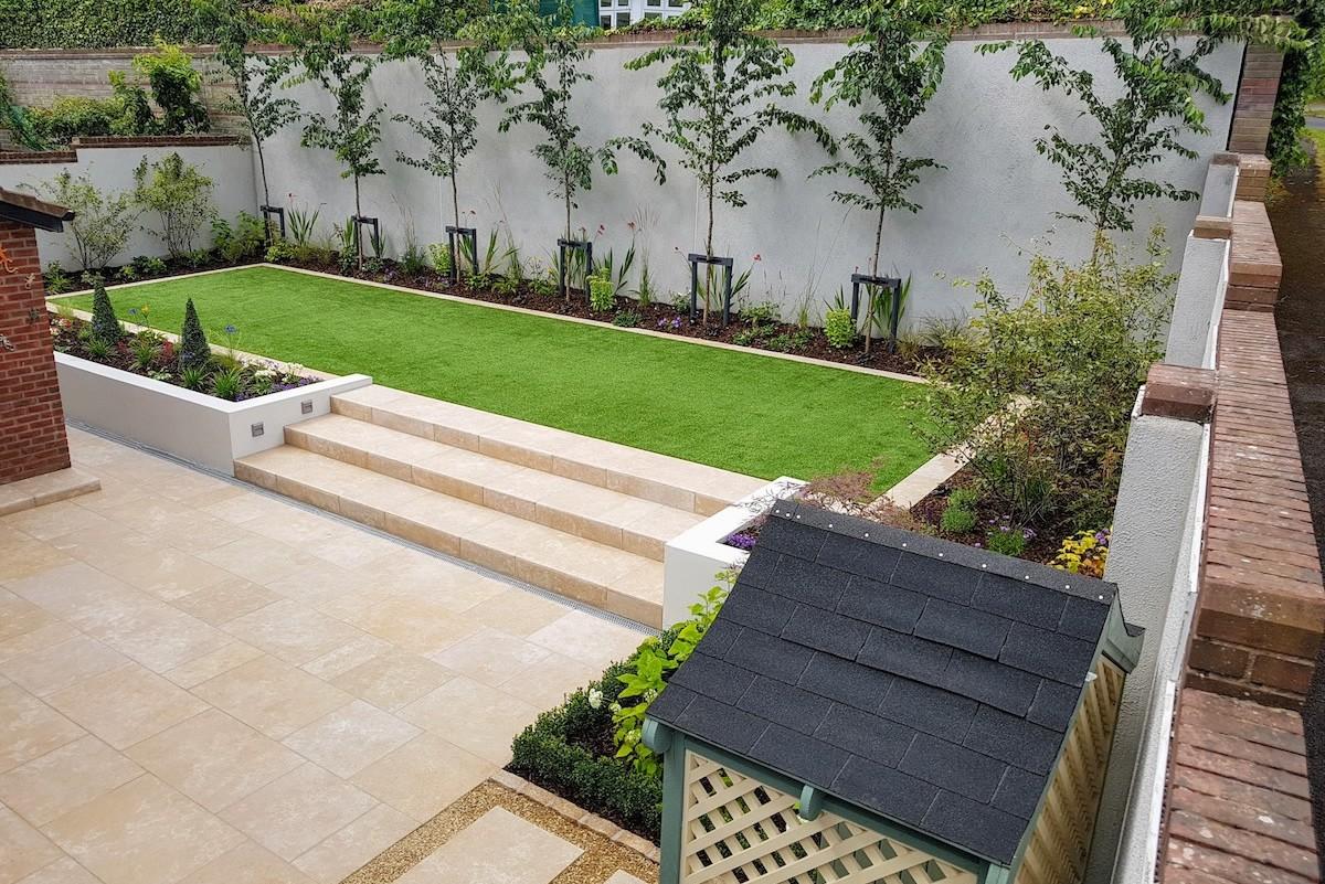 Contemporary Garden Design Cabinteely  LandArt